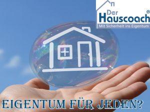 Risiko Immobilienblase