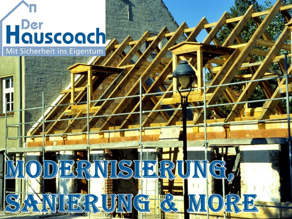 Modernisierung und Sanierung ihrer Immobilie