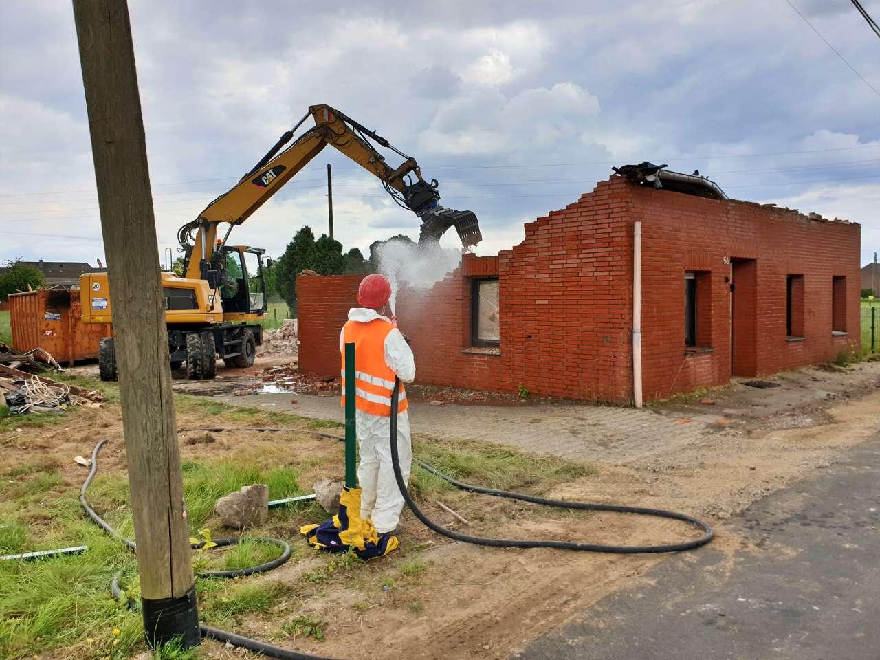 Abriss Immobilie Einfamilienhaus freistehend